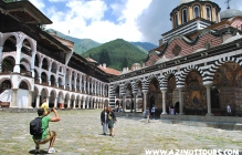 Rila Monastery, Stob Pyramids and the cave of St Ivan Rilski