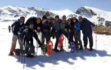 The Seven Rila Lakes snowshoeing and SPA tour